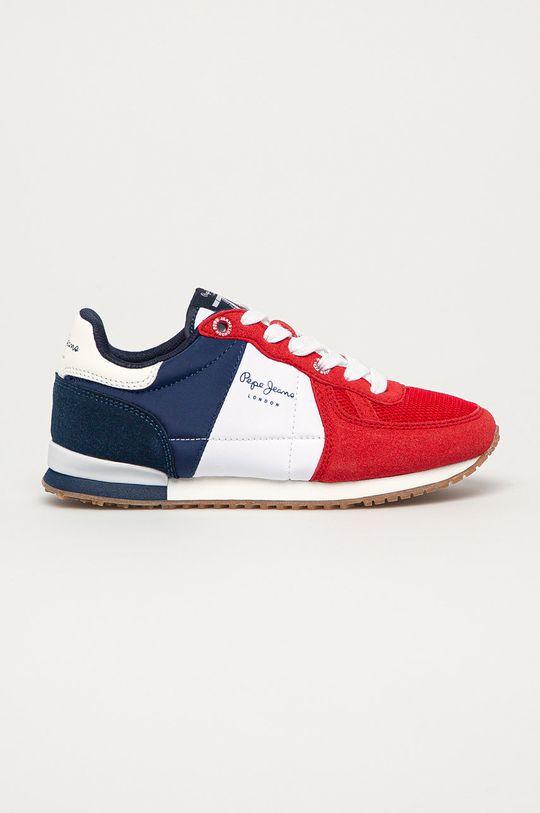 červená Pepe Jeans - Detské topánky Sydney Chlapčenský