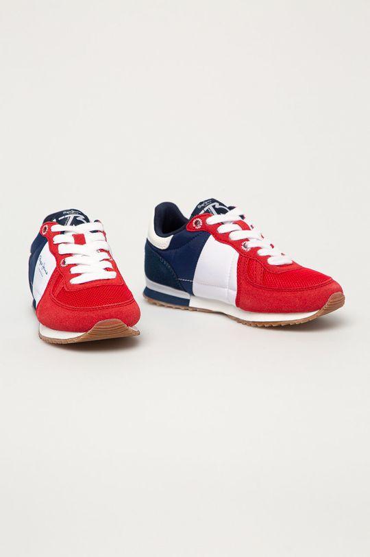 Pepe Jeans - Detské topánky Sydney červená