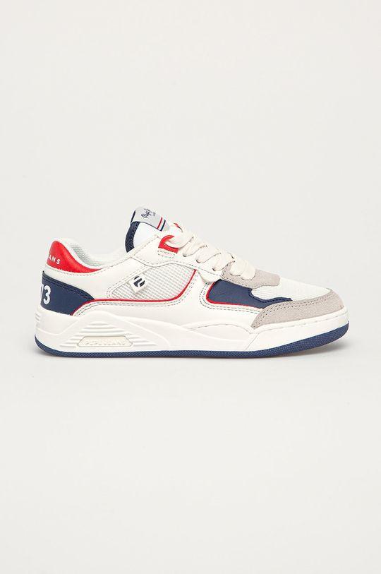 biały Pepe Jeans - Buty dziecięce Kurt Basket Chłopięcy