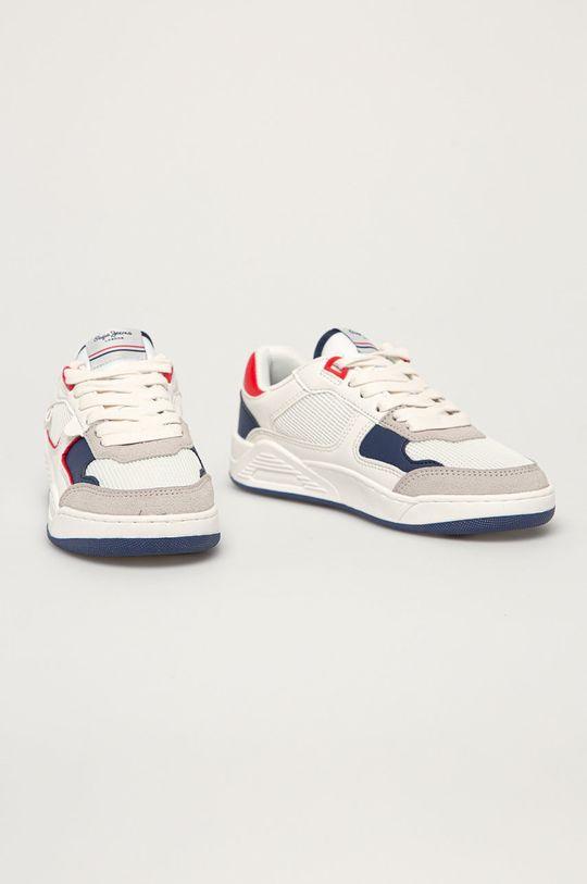 Pepe Jeans - Buty dziecięce Kurt Basket biały