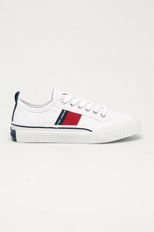 biały Pepe Jeans - Tenisówki dziecięce Ottis Boy Chłopięcy