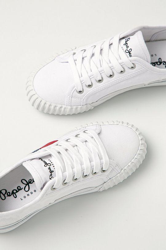 biały Pepe Jeans - Tenisówki dziecięce Ottis Boy