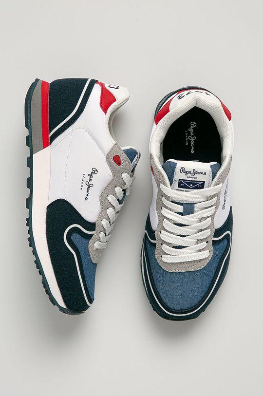 bleumarin Pepe Jeans - Pantofi copii Klein New Boy