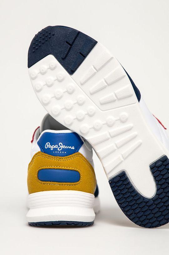 bílá Pepe Jeans - Dětské boty York Basic