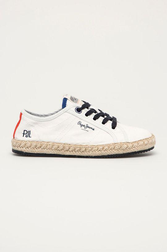 biały Pepe Jeans - Tenisówki dziecięce Tourist Combi Chłopięcy