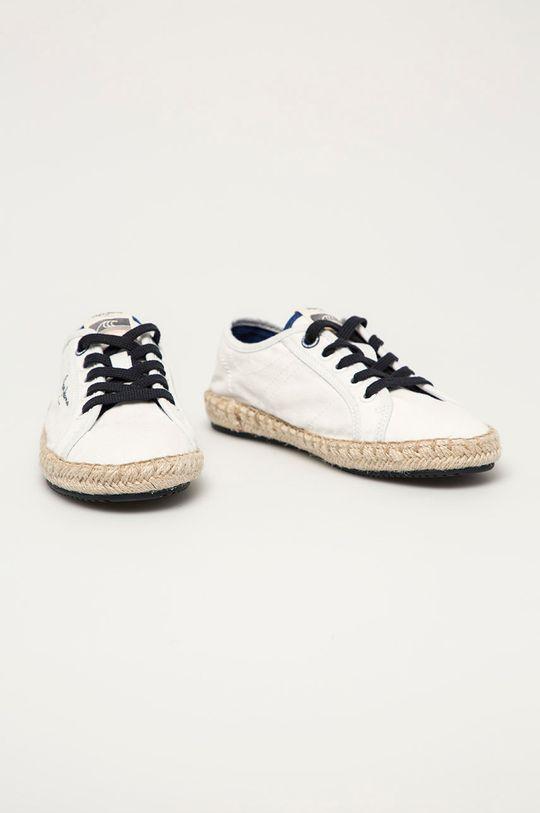 Pepe Jeans - Tenisówki dziecięce Tourist Combi biały