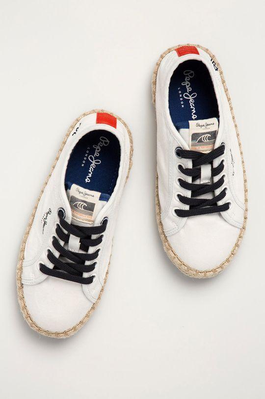 biały Pepe Jeans - Tenisówki dziecięce Tourist Combi