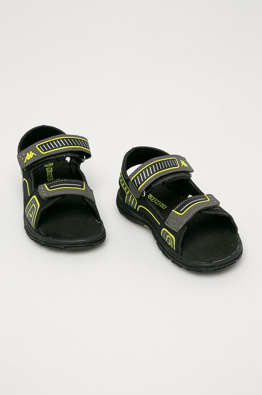 Kappa - Detské sandále Paxos čierna