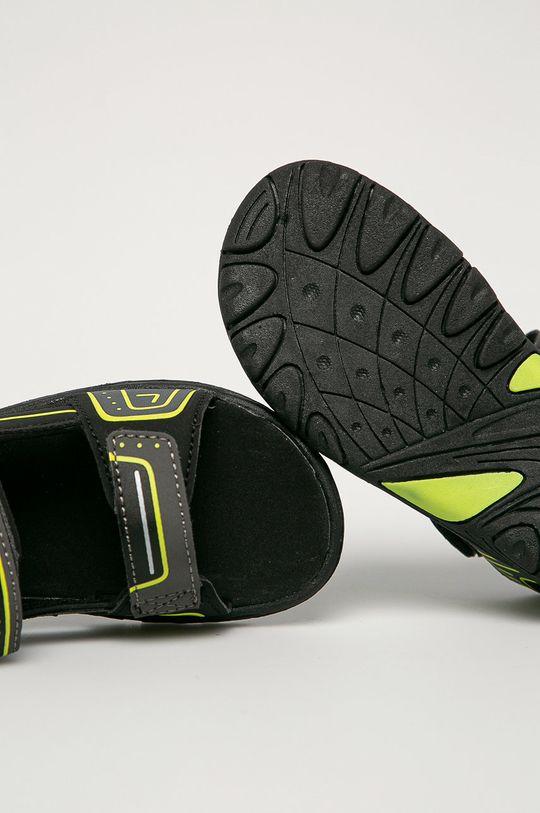 čierna Kappa - Detské sandále Paxos
