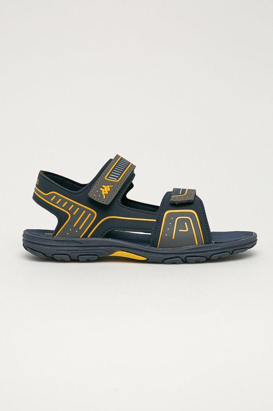 tmavomodrá Kappa - Detské sandále Paxos Chlapčenský