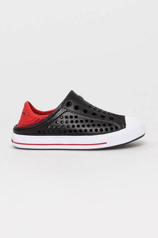 czarny Skechers - Tenisówki dziecięce Chłopięcy