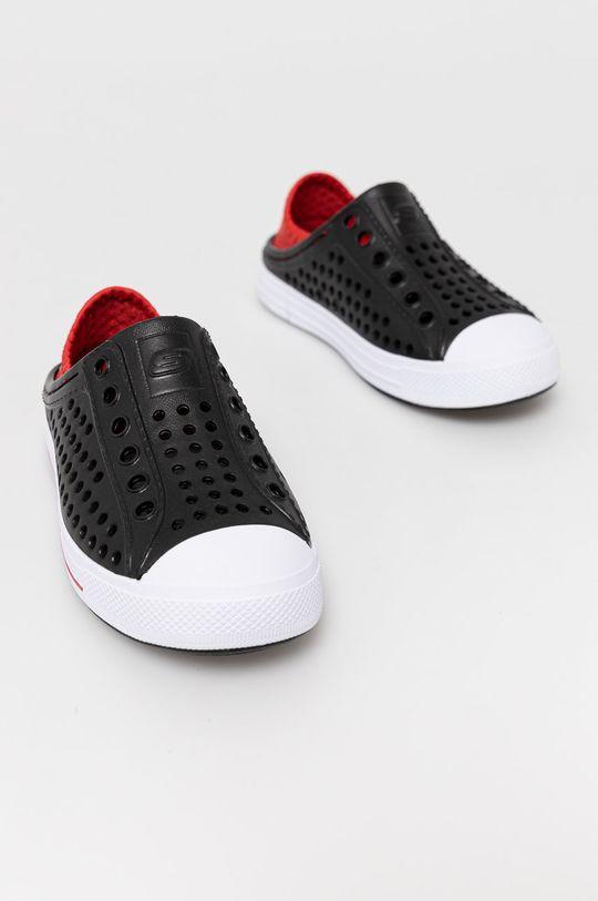 Skechers - Tenisówki dziecięce czarny