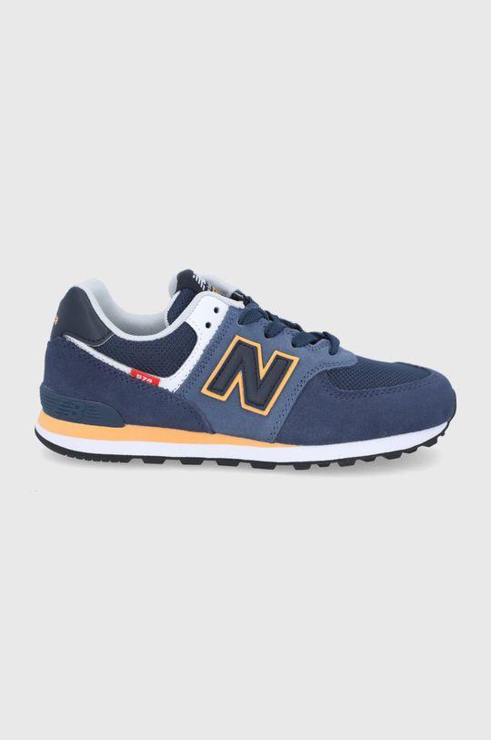 bleumarin New Balance - Pantofi copii GC574SY2 De băieți