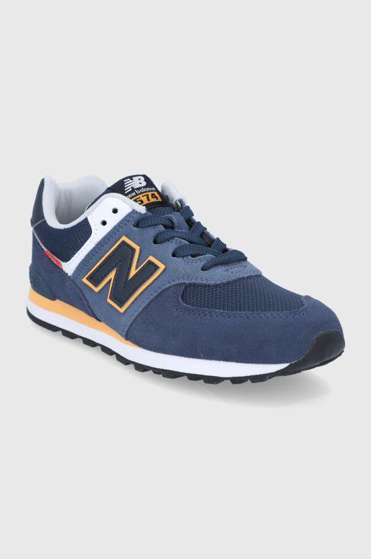 New Balance - Pantofi copii GC574SY2 bleumarin