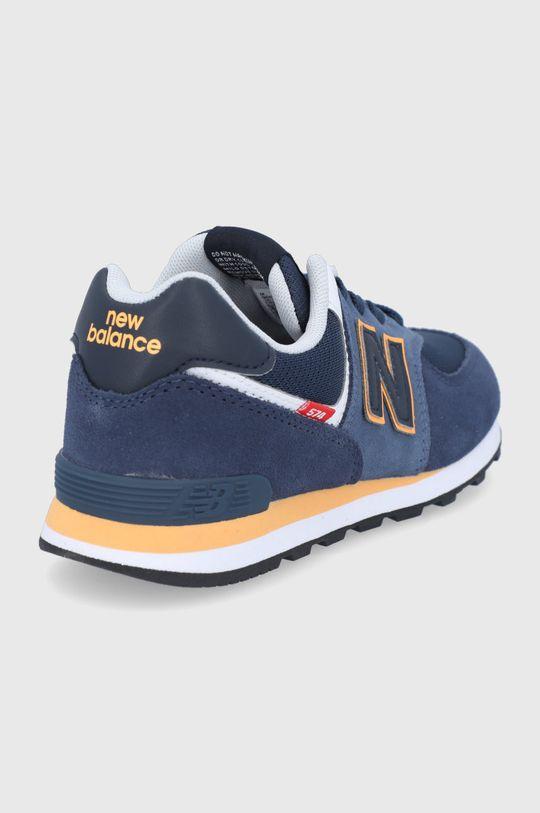 New Balance - Pantofi copii GC574SY2  Gamba: Material textil, Piele naturala Interiorul: Material textil Talpa: Material sintetic