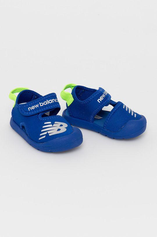 New Balance - Sandale copii IOCRSRRB albastru