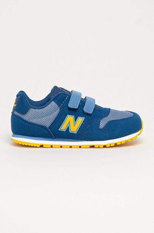 modrá New Balance - Detské topánky IV500TPL Chlapčenský