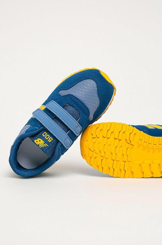 modrá New Balance - Detské topánky IV500TPL