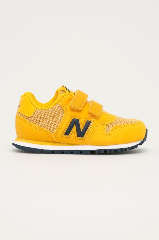 jantarová New Balance - Dětské boty IV500TPY Chlapecký