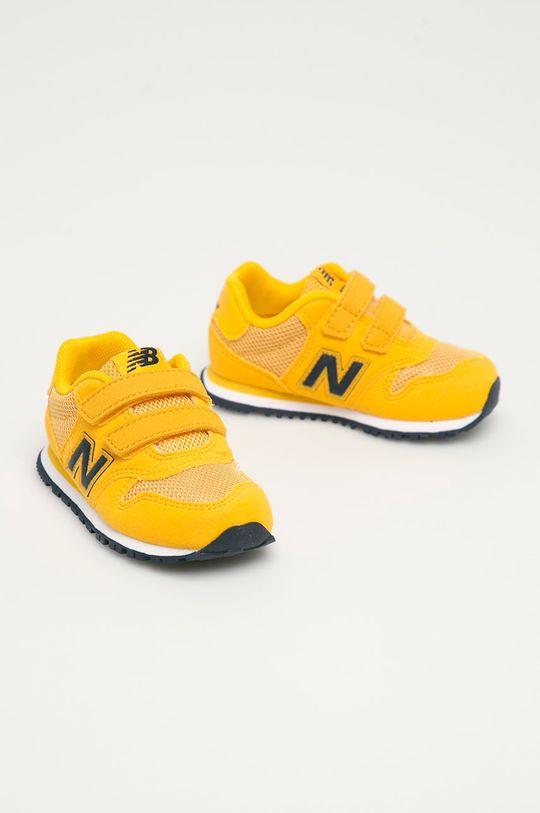 New Balance - Dětské boty IV500TPY jantarová