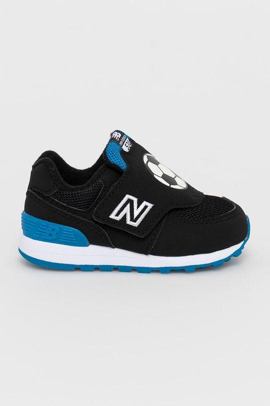 czarny New Balance - Buty dziecięce IV574FRA Chłopięcy