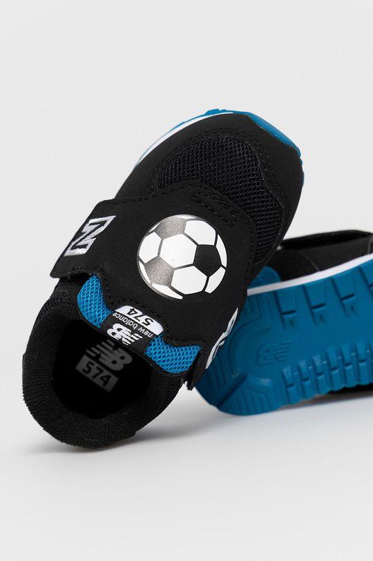 czarny New Balance - Buty dziecięce IV574FRA