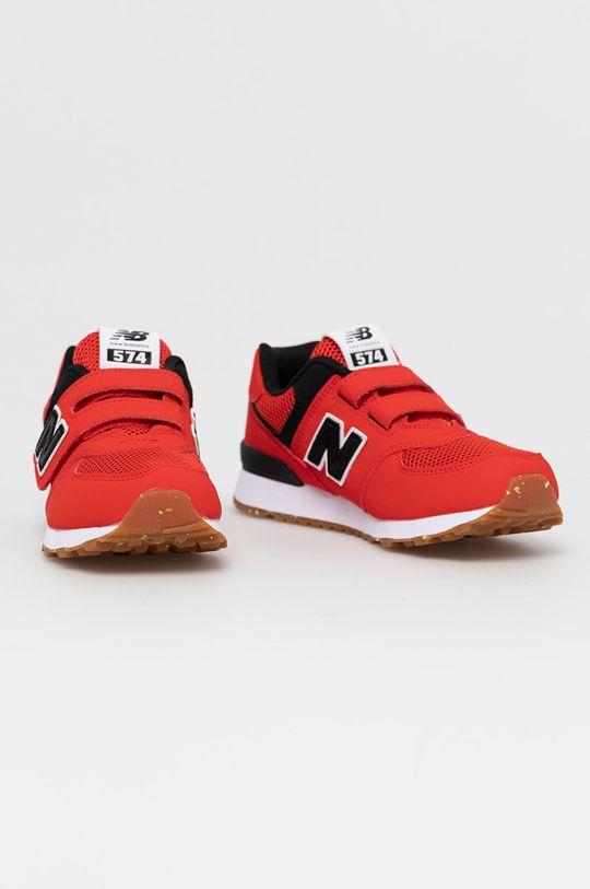 New Balance - Detské topánky PV574BRK červená