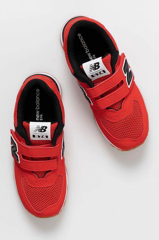 červená New Balance - Detské topánky PV574BRK