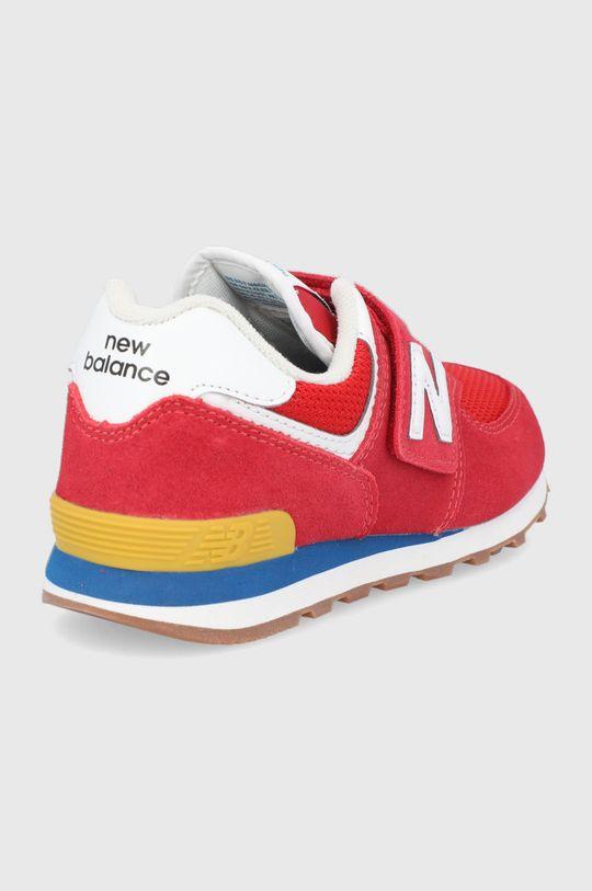 New Balance - Detské topánky PV574HA2  Zvršok: Textil, Semišová koža Vnútro: Textil Podrážka: Syntetická látka