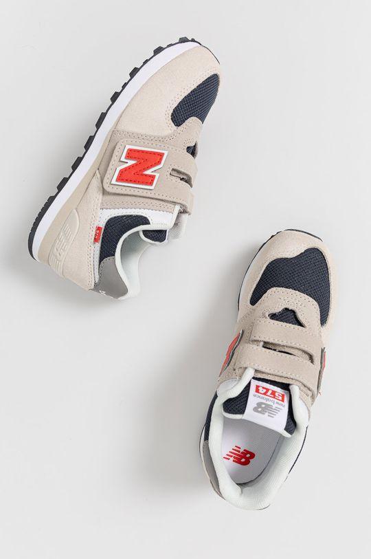 New Balance - Detské topánky PV574SJ2 Chlapčenský