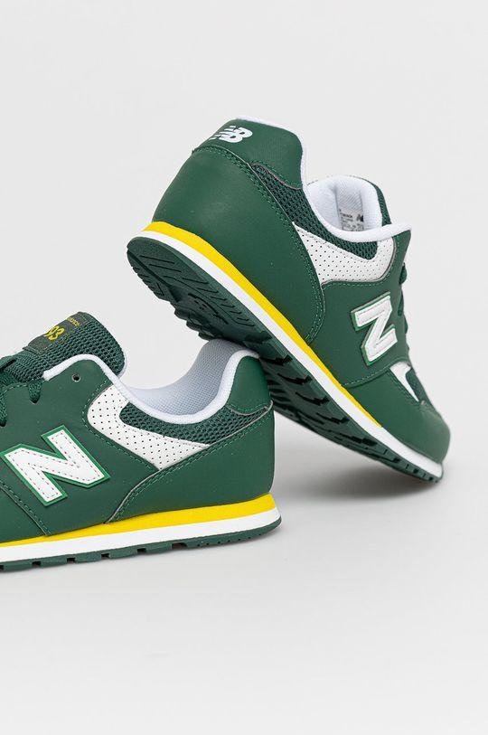 New Balance - Detské topánky YC393BGR  Zvršok: Syntetická látka, Textil Vnútro: Textil Podrážka: Syntetická látka