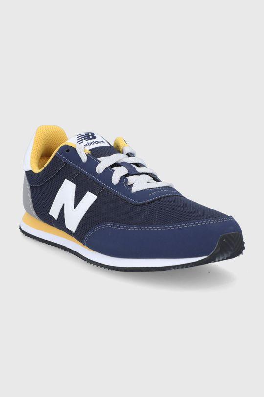 New Balance - Detské topánky YC720NV2 tmavomodrá