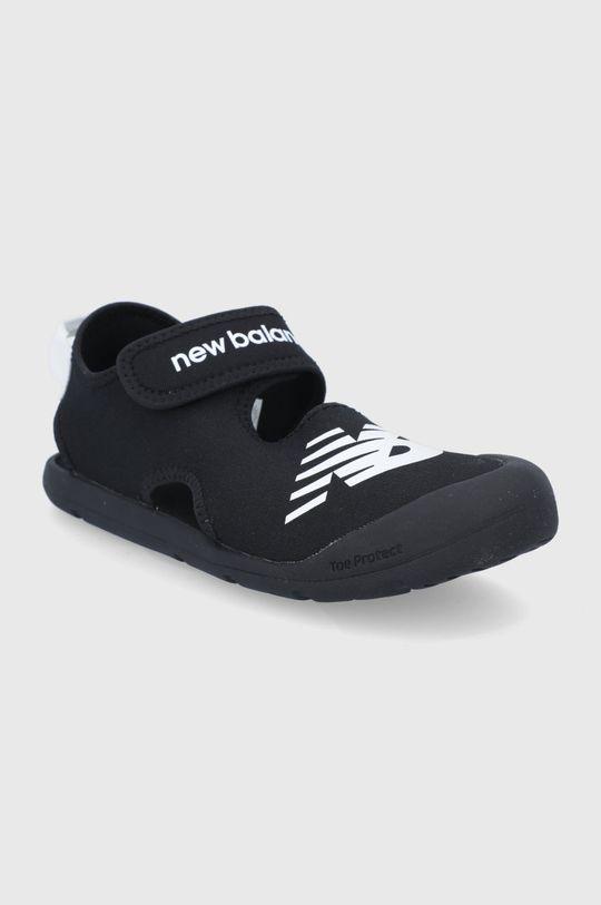 New Balance - Sandały dziecięce YOCRSRBK czarny