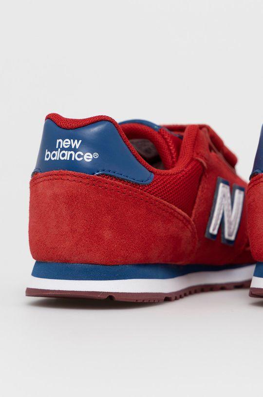 New Balance - Pantofi copii YV373SRW  Gamba: Material textil, Piele intoarsa Interiorul: Material textil Talpa: Material sintetic