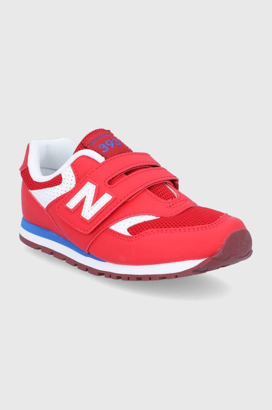 New Balance - Detské topánky YV393BBP červená