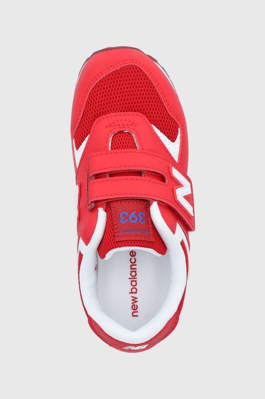 červená New Balance - Detské topánky YV393BBP