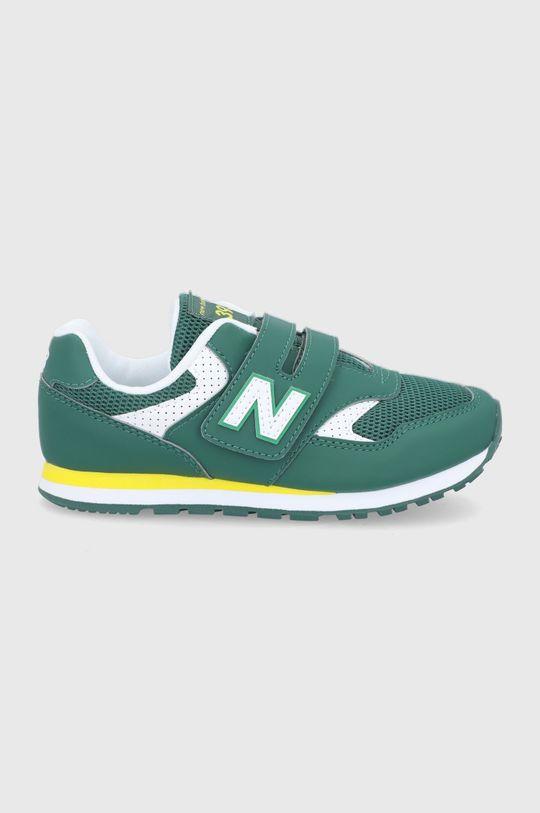 verde New Balance - Pantofi copii YV393BGR De băieți