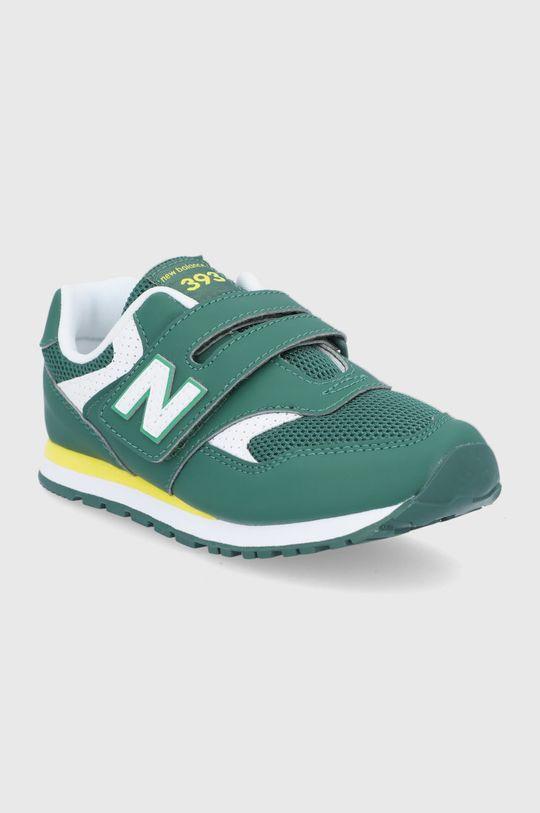 New Balance - Pantofi copii YV393BGR verde