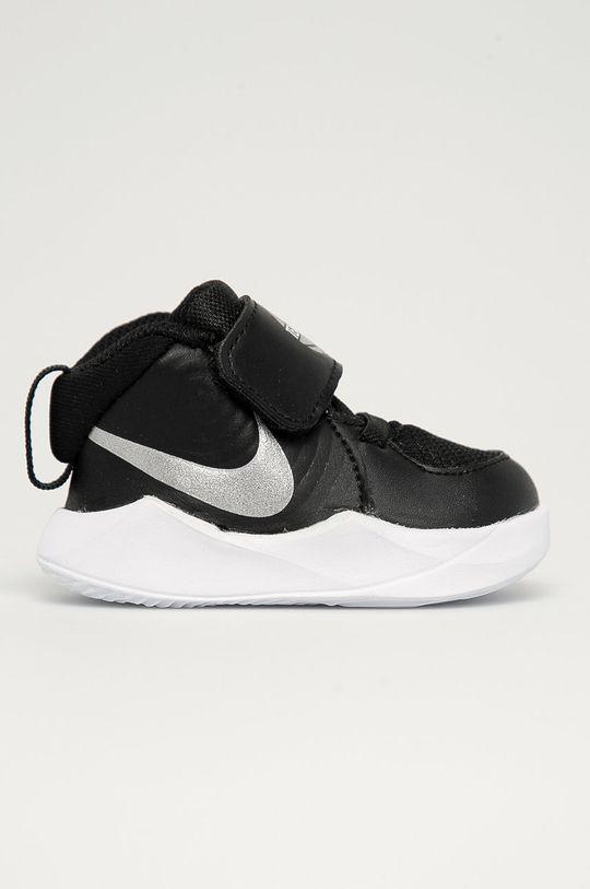 negru Nike Kids - Pantofi copii Team Hustle D 9 De băieți
