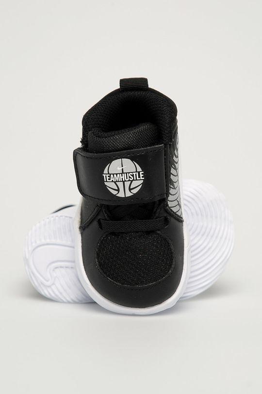 negru Nike Kids - Pantofi copii Team Hustle D 9