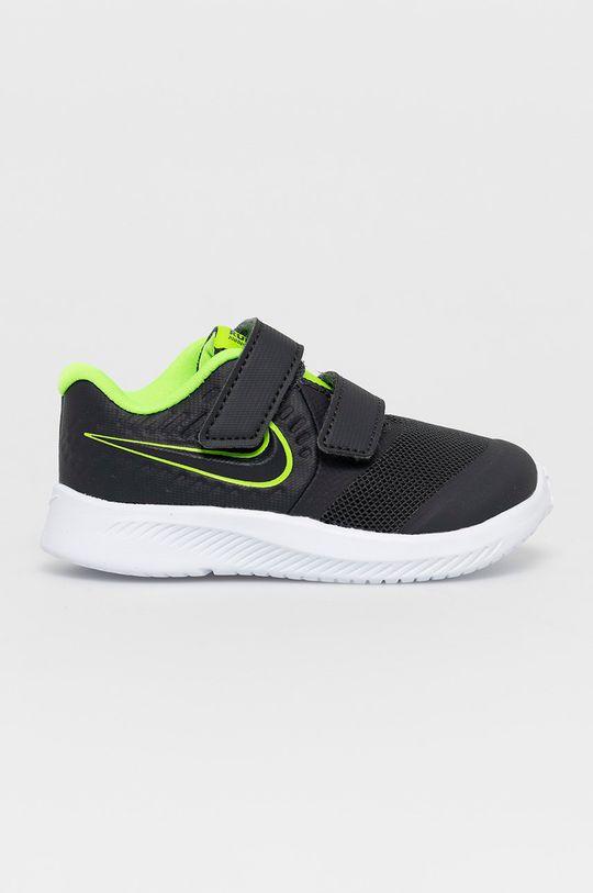 sivá Nike Kids - Detské topánky Star Runner 2 Chlapčenský
