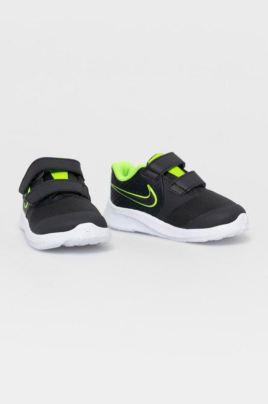 Nike Kids - Detské topánky Star Runner 2 sivá