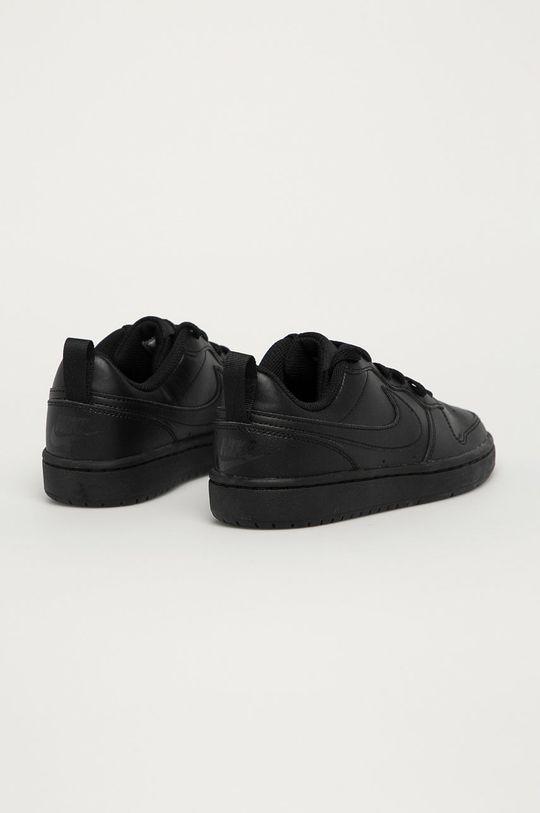 Nike Kids - Detské kožené topánky Court Borough Low  Zvršok: Textil, Prírodná koža Vnútro: Textil Podrážka: Syntetická látka