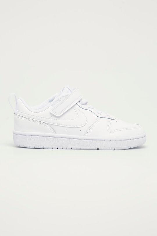 biały Nike Kids - Buty dziecięce Court Borough Low 2 Chłopięcy