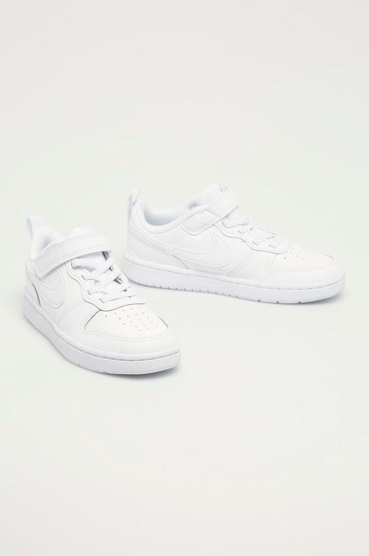 Nike Kids - Buty dziecięce Court Borough Low 2 biały