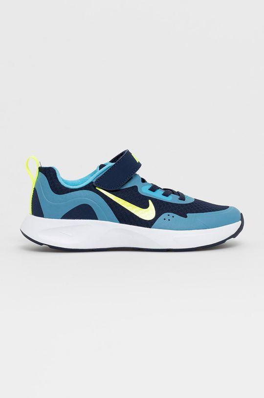tmavomodrá Nike Kids - Detské topánky WearAllDay Chlapčenský