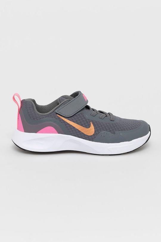 sivá Nike Kids - Detské topánky WearAllDay Chlapčenský