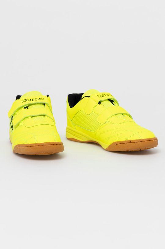 Kappa - Detské topánky Kick off žltá