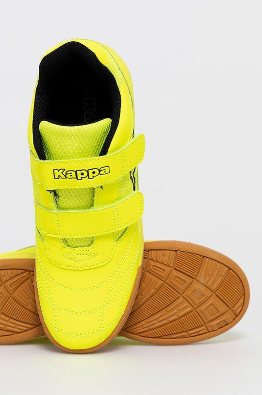 žltá Kappa - Detské topánky Kick off