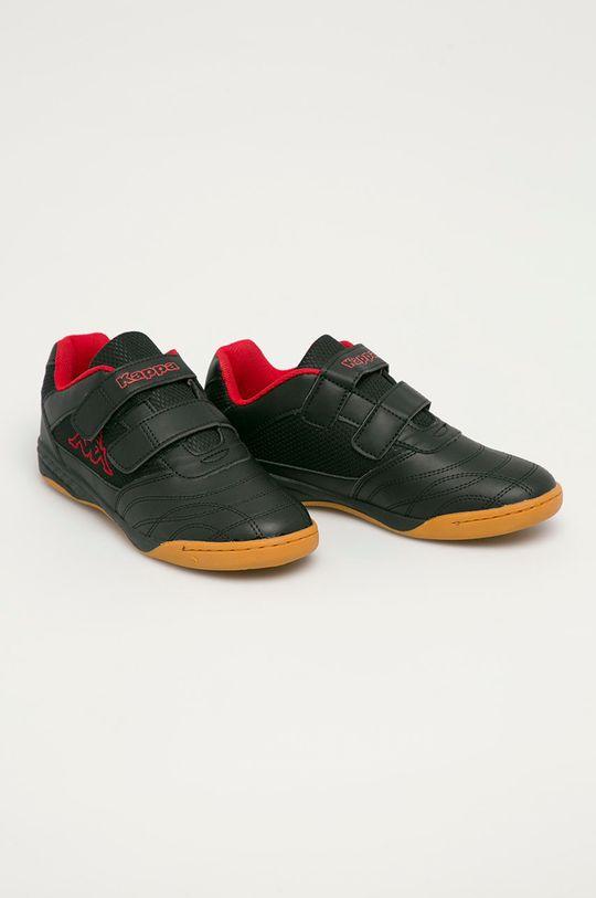 Kappa - Dětské boty Kick off černá